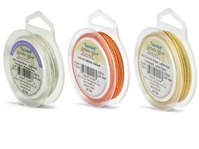 Artistic Wire - Twisted Wire - Various Colours and Spool Length