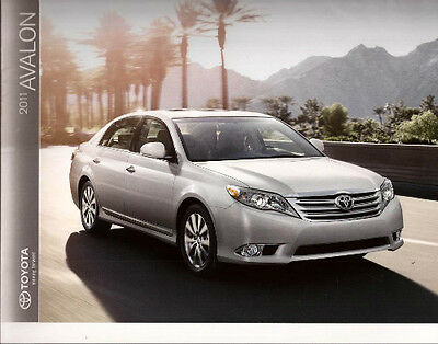 2011 11 Toyota Avalon oiginal sales brochure MINT