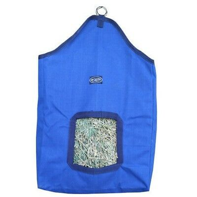 CARIBU 17oz Corespun Canvas Horse Feed HAY BAG, Super Strong. Holds 2 Biscuits