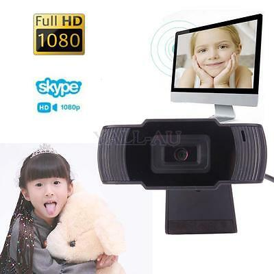 USB 2.0 12MP 1080P HD Webcam Camera Video with Built-in Mic for PC HK Free Ship