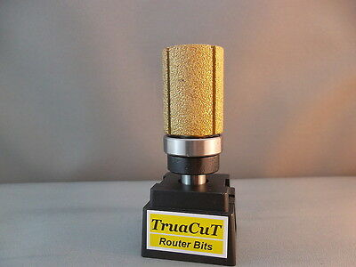Router Bit- 28mm DIAMOND Inverted Flush Trim  (TruaCuT)