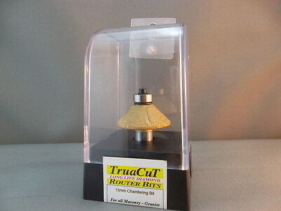 Router Bit- 12mm DIAMOND Chamfering DRB916 (TruaCuT)
