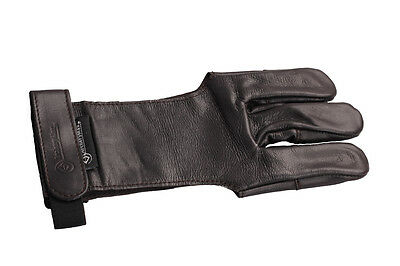 ArcheryMax Hand Made TRADITIONAL Shooting Cow Leather Gloves Archery Finger