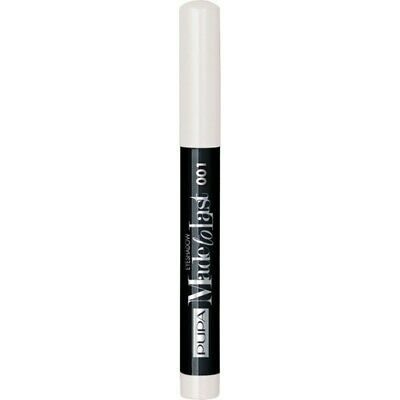 PUPA Made to Last Waterproof Eyeshadow - Ombretto 001 Flash White