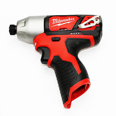Milwaukee 2462-20 M12 1/4-Inch Hex Impact Driver - Bare Tool Only