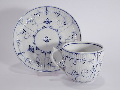 Antico Set Tazza+Piattino 1800 Porcellana Villeroy&boch Dresden Old Cup+Saucer