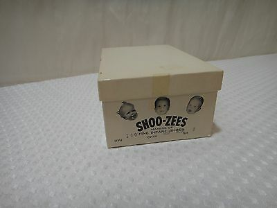 Vintage Shoo-Zees Baby Shoe Box Makers of Fine Infant Shoes Box Only