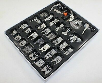32pcs Household Sewing Machine Presser Foot Feet For Brother Singer Janome