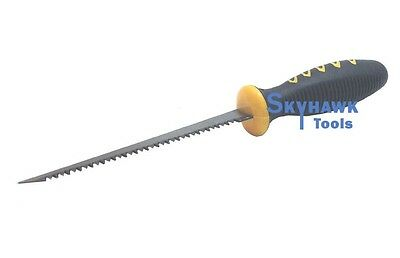 """6"""" Drywall Saw Wallboard Jab Contractor's Utility Tool Rubber Hand Grip"""
