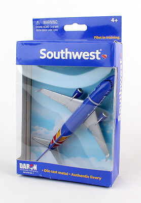 DARON REALTOY RT8184-1 SOUTHWEST AIRLINES Boeing 737 1/300 New Livery Diecast