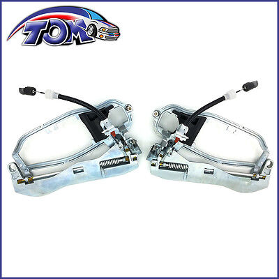 Brand New Set Of Front Outside Door Handle Carrier  For E53 - Bmw X5