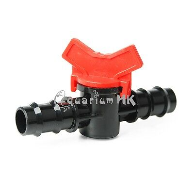 Aquarium Water Flow Rate Controller Valve Connector Switch Tubing 15mm / 18mm