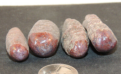 Star Sapphire Red Crystals 1/4 pound 4 pieces (10167)