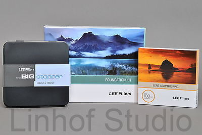 Lee Filters Foundation Kit with 77mm Standard Adapter Ring and Big Stopper