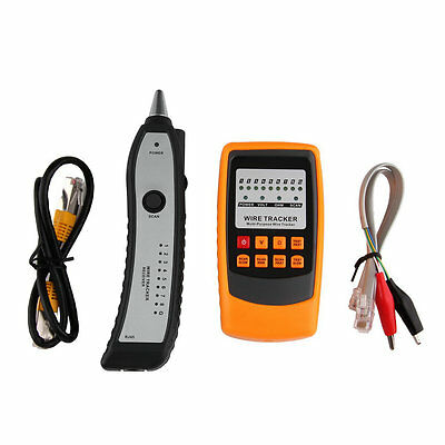 Cable Tester Tracker Phone Line Network Finder RJ11 RJ45 Wire Tracer FH4