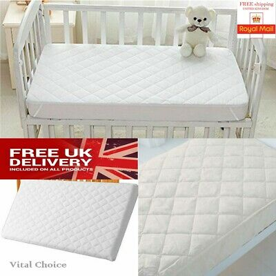 Baby Toddler Cot Bed Breathable Foam Mattress All Sizes Available