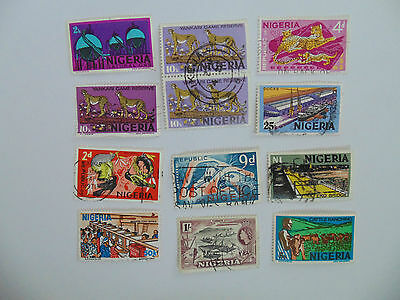 L816 - Collection Of Nigeria Stamps