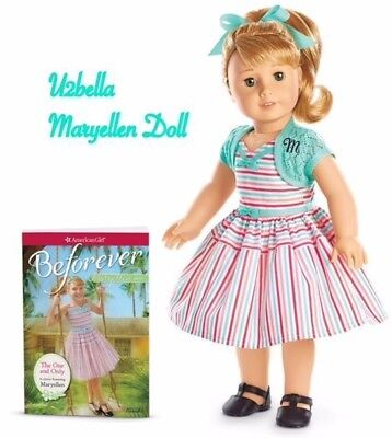 American Girl Maryellen Larkin Doll & Book Mary Ellen BEFOREVER Doll NEW IN BOX