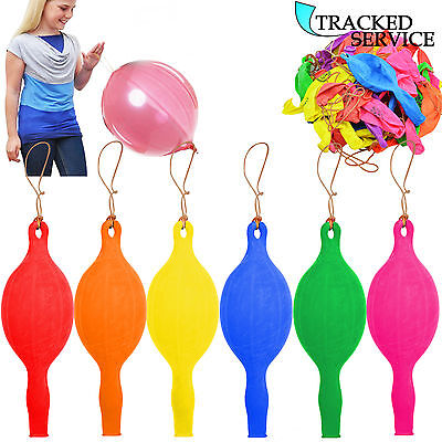 Large Punch Balloons Children Loot Goody Party Bags Pinnata Fillers Toys Uk