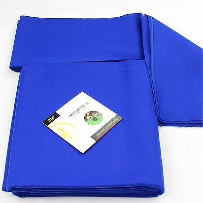 Hainsworth ELITE PRO Bed & Cushion Set for 7ft UK Pool Table - ROYAL BLUE