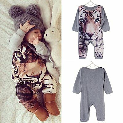 Newborn Infant Kids Baby Boys Girls Romper Jumpsuit Bodysuit Clothes Outfit Set