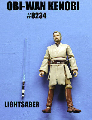 Star Wars Jedi Master Obi-Wan Kenobi Action Figure!