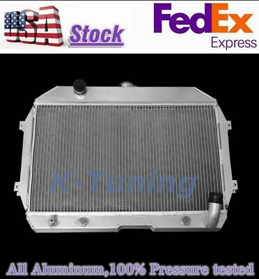 3Row Aluminum Radiator For 1970-1975 NISSAN Datsun 240Z 260Z 1971 1972 1973 1974