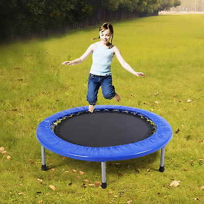 """38"""" Foldable Mini Trampoline Jogger Fitness Exercise Sports Bouncer W Carrybag"""