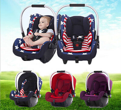 3 Color Portable Baby Child Sleeping Basket Newborn Capsule AU