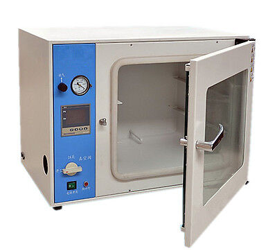 220V Lab Digital Vacuum Drying Box Drying Oven Cabinet  RT+10~200℃