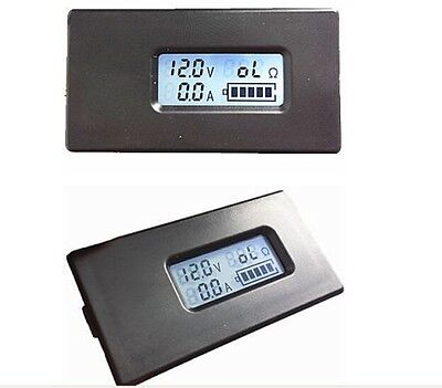 Lithium Li-ion battery Batterie tester LCD meter Voltage/Current/Capacity/ 18650