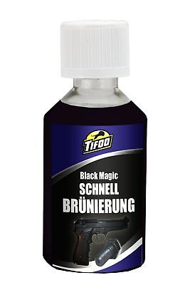 Brunissage à froid rapide / bleuissage en peignant Black Magic (50 ml)