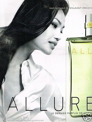 Publicité advertising 1997 Parfum Allure par Chanel