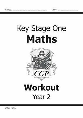 KS1 Maths Workout - Year 2 for the New Cu by William Hartley New Paperback Book