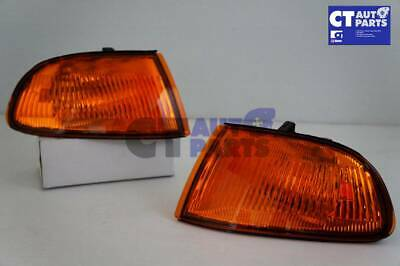 JDM Amber Corner Indicator Light for 91-95 Honda Civic EG 3D Hatchback