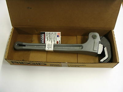 "RIDGID 14"" Rapid Grip Aluminum Pipe Wrench RapidGrip 12693 - USA"