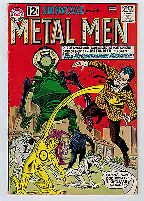 Showcase #38 4.0 2Nd Appearance Metal Men Ow/w Pages Silver Age