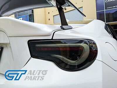 VALENTI SMOKED LED Tail light Toyota 86 GTS Subaru BRZ ZN6 Seqnential Blinker