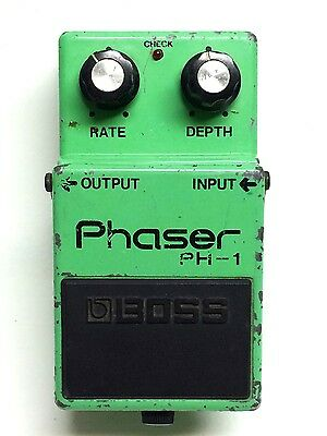 Boss PH-1, Phaser, Guitar Effect Pedal, Made In Japan, 1978