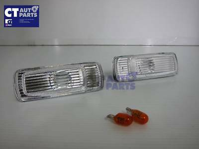 91-98 NISSAN SILVIA 180SX RPS13 Crystal clear side marker indicator