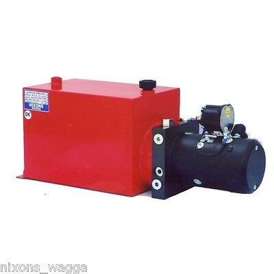 Pump Motor Tank - High Pressure 12v or 24v.  Good for Crane Use.