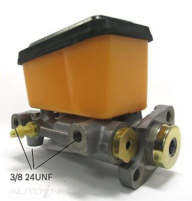 Bosch Brake Master Cylinder for FORD FALCON 4D Sdn RWD XC, XD, XE 76~84