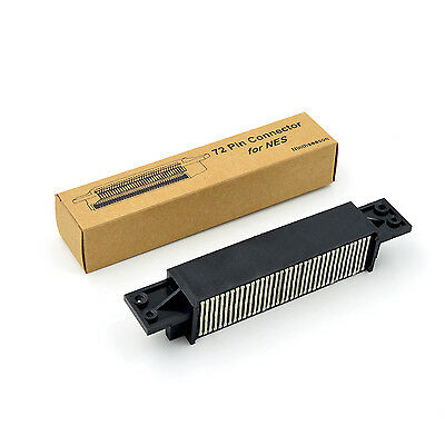 72 Pin Connector For Nintendo NES Game Cartridge Adapter Replacement Part Tool