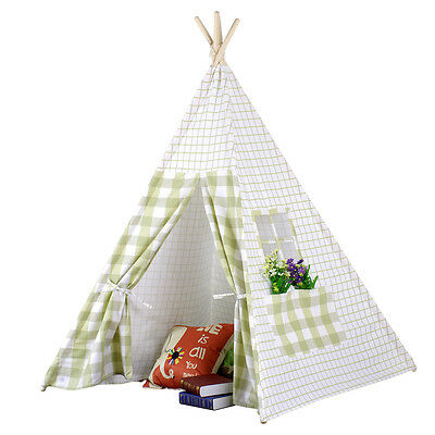 Kids Tipi Teepee Tepee Play Tent Play House 100% cotton Outdoor/ Indoor Tent Toy