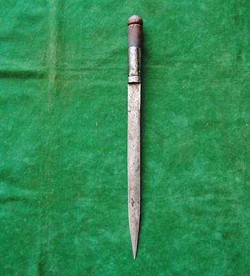 Antique Large Islamic Ottoman Stiletto khanjar Kindjal Dagger no shamshir yataga