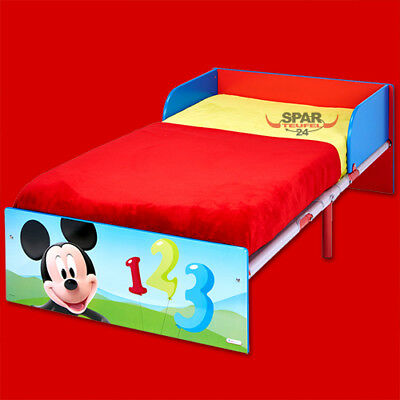 disney kinderbett mickey mouse kinder bett jugendbett. Black Bedroom Furniture Sets. Home Design Ideas