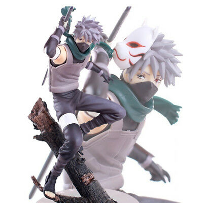 HOT Anime Naruto Kakashi 10'' Deluxe Collection Action Figure PVC Model Gift Toy