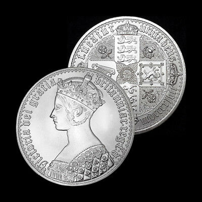 PATTERN Coin , 1847 GOTHIC CROWN COIN - Pattern Coin  - The Beautiful One.