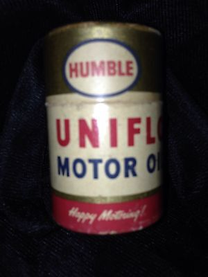 Humble Uniflo  Motor Oil Match Holder