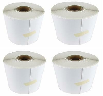 4 Rolls 4x6 Direct Thermal Labels Rolls of 250 / 1000. For Eltron Zebra